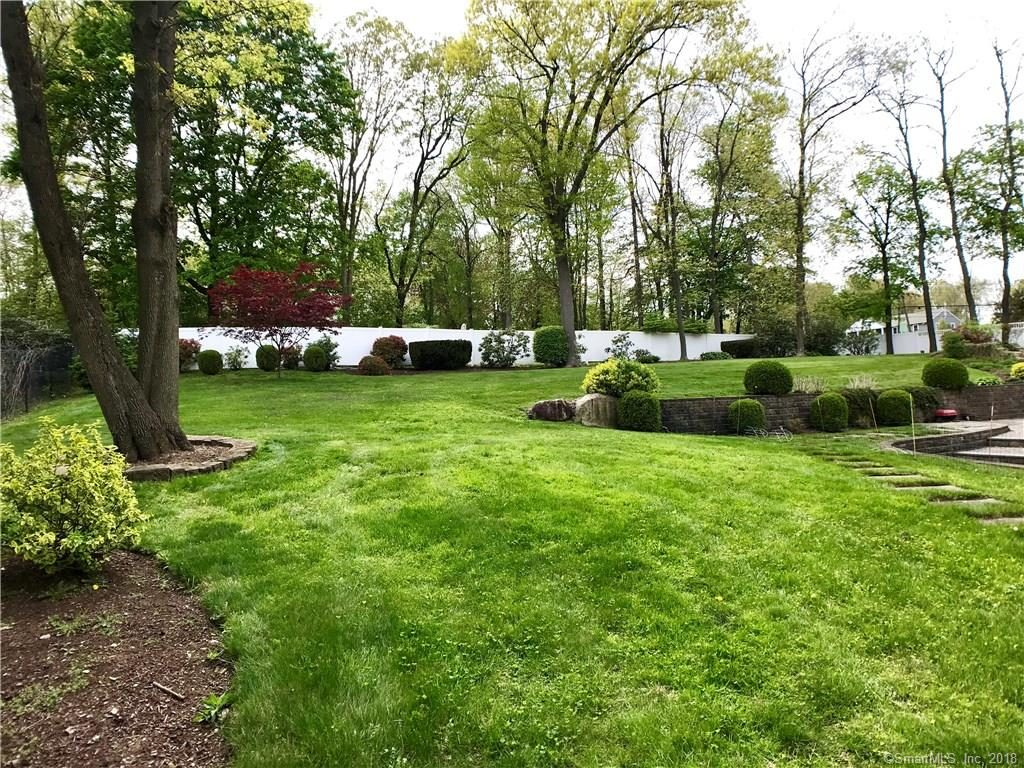 Mature plants on lush green grass 2 Duck Pond Road Norwalk CT 06855-2023