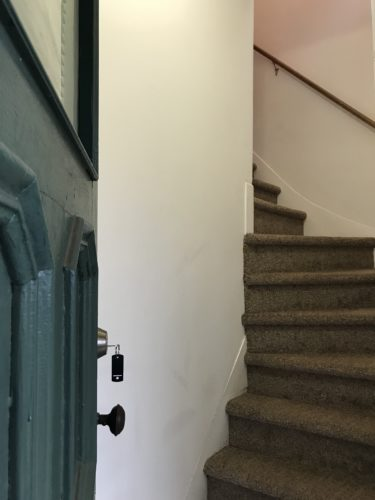 5 Arch Street SONO CT stairs to apartment
