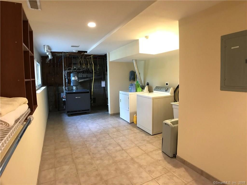 Separate laundry area