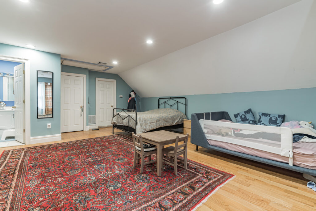 """Bedroom 6 with full bath view 1 of 2 21' 5"""" x 30' 2"""" - 2nd Floor"""