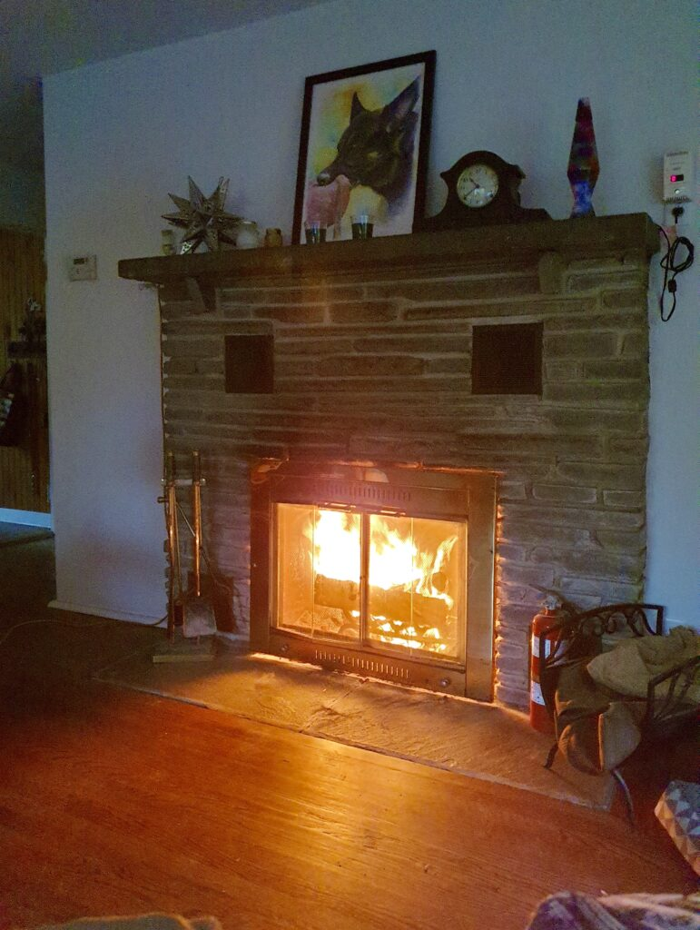 6 Wakefield Rd Wilton CT Living Room Fireplace