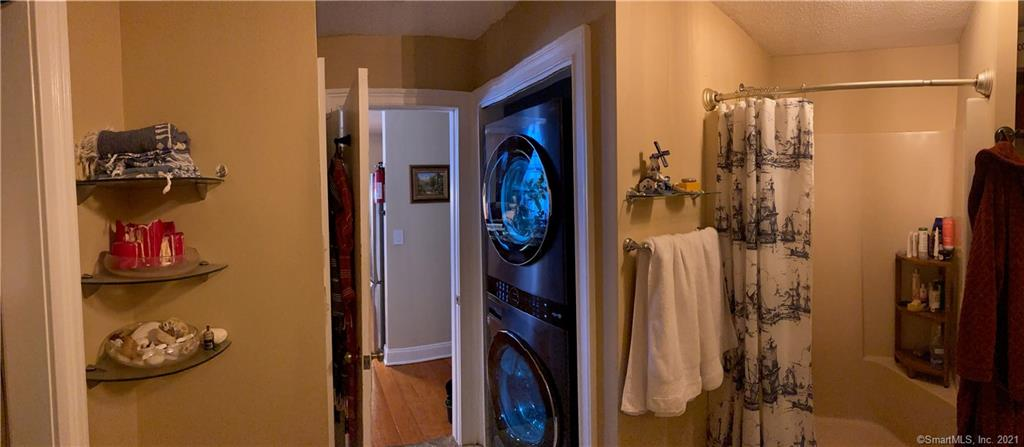 Bathroom with Laundry Washer/Dryer