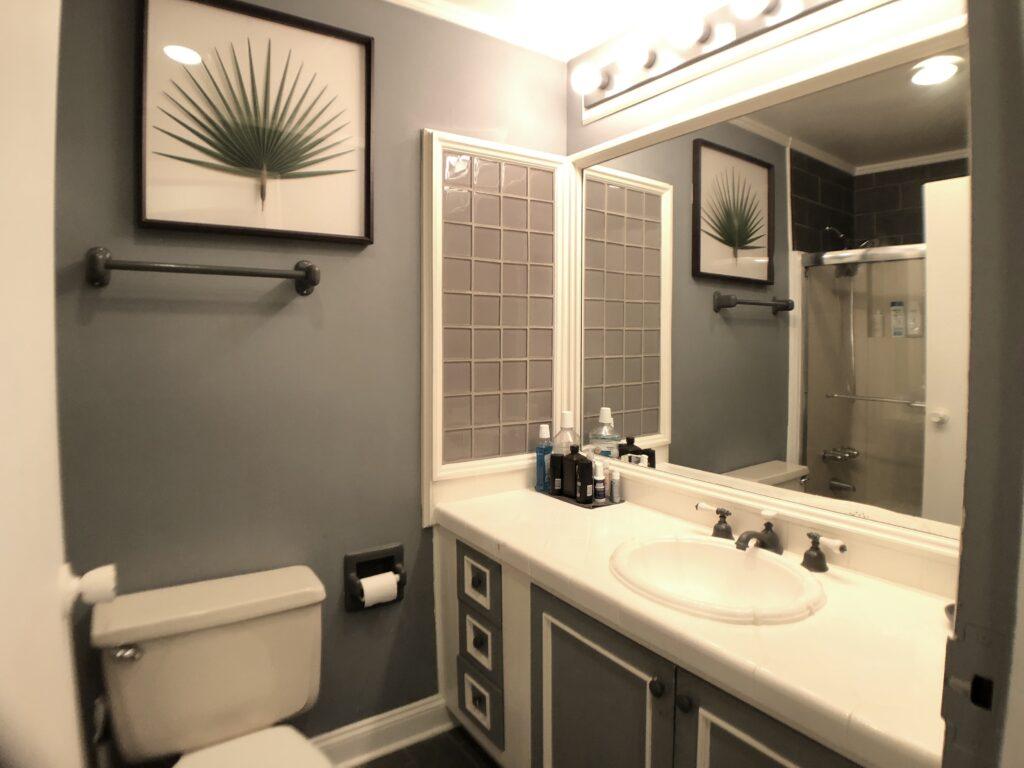 Fulll bathroom Studio For Rent 94 Washington St Unit 17 South Norwalk CT