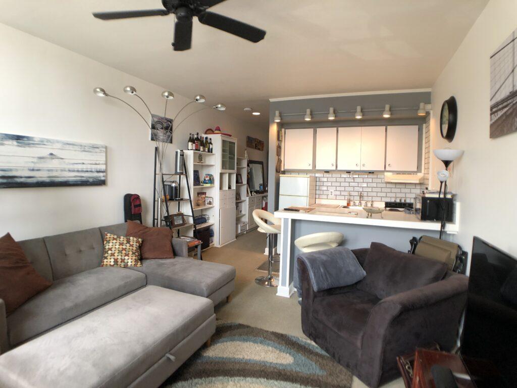 Full view of Studio For Rent 94 Washington St Unit 17 South Norwalk CT