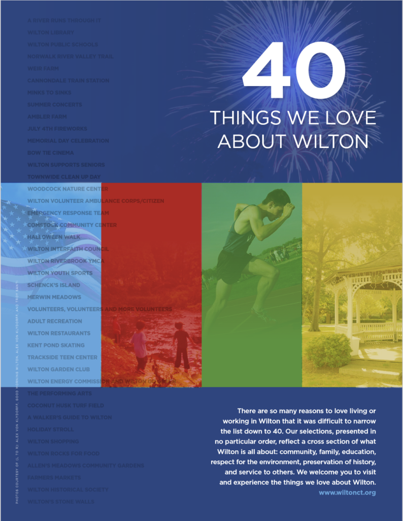 40 Things We Love About Wilton wiltonct.org